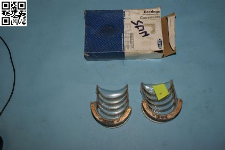 1955-1968 Gen1 Small Block Chevrolet Main Bearings, Box F, New